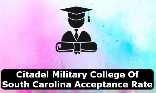 Citadel Military College of South Carolina South Carolina Acceptance Rate