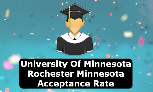 University of Minnesota Rochester Minnesota Acceptance Rate
