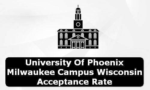 University of Phoenix Milwaukee Campus Wisconsin Acceptance Rate