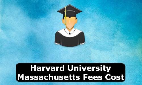 Harvard University Massachusetts Fees Cost
