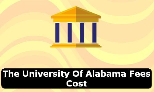 The University of Alabama Alabama Fees Cost