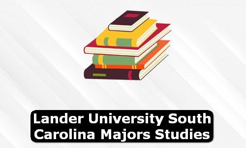 Lander University South Carolina Majors Studies