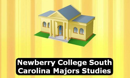 Newberry College South Carolina Majors Studies
