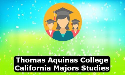 Thomas Aquinas College California Majors Studies