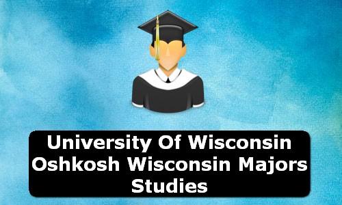 University of Wisconsin Oshkosh Wisconsin Majors Studies